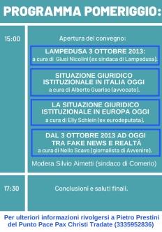 Varese programma pomeriggio